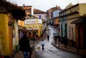 La Canderalia neighborhood in Bogota, Colombia...Photo by Robert Caplin