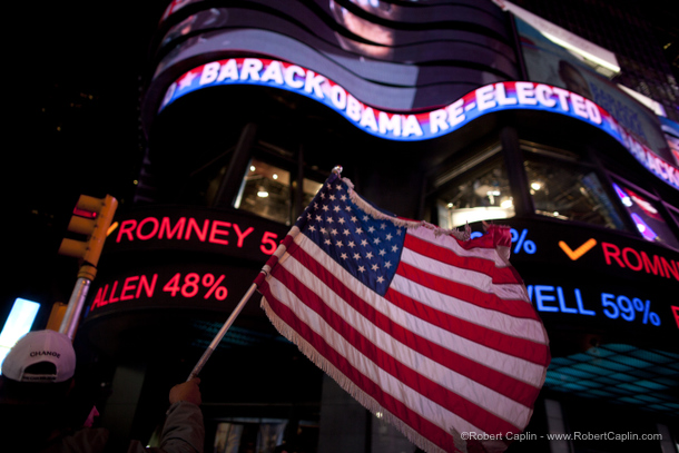 Times Square Election Night