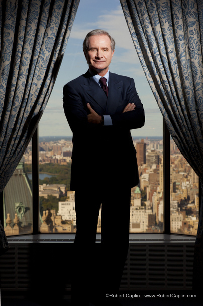 Fabrizio Freda, CEO of Estee Lauder, in New York. Photo by Robert Caplin