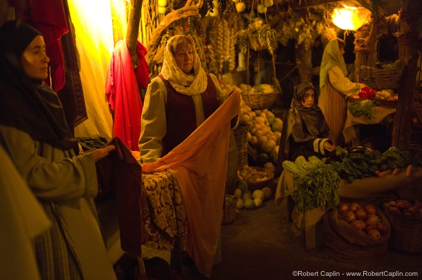 Real Human Nativity Scene in Linyola, Spain. &lt;/p&gt;&lt;br /&gt;<br /> &lt;p&gt;Photo © Robert Caplin